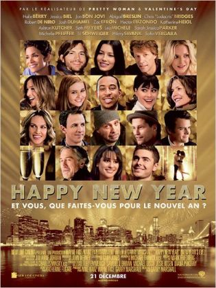Happy New Year - poster du film 2011