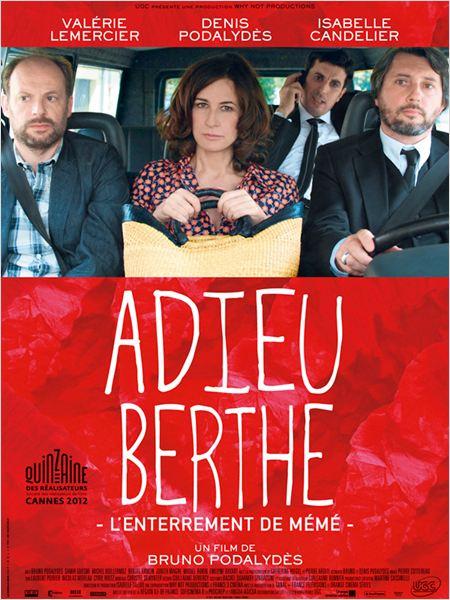 adieu Berthe poster