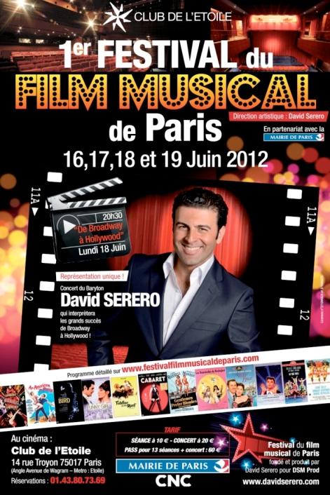 Affiche Festival du Film Musical