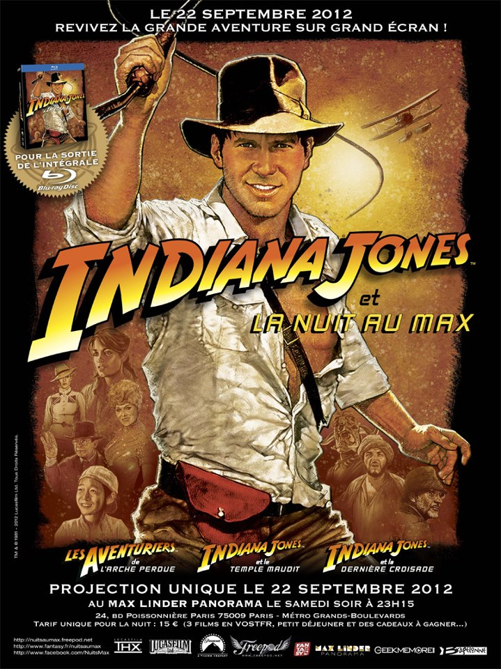 Nuit Indiana jones au  Max Linder