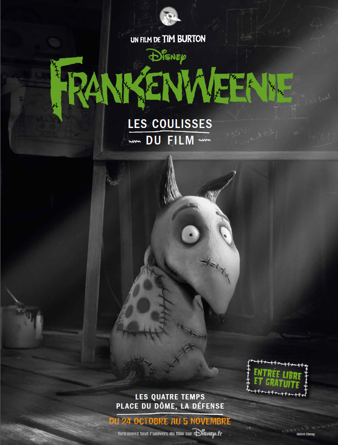 Frankenweenie_ affiche _coulisses