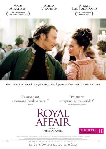 affiche A Royal affair