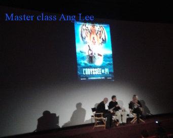 Master class Ang Lee