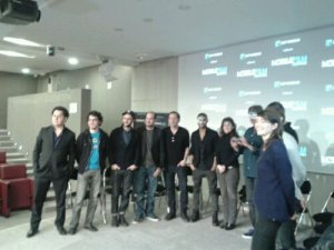 conférence de presse Mobile Film Festival