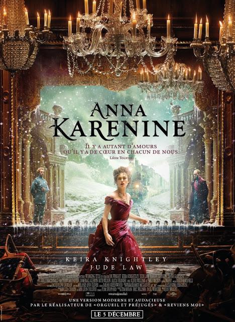 Affiche Anna Karénine © Universal Pictures International France
