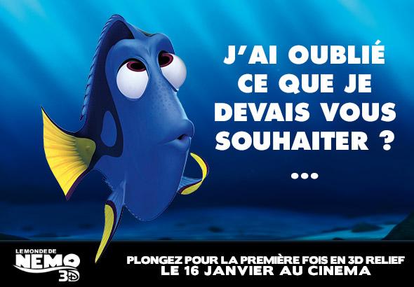 Les crans de claire vous souhaitent une bonne ann e - Nemo et doris ...