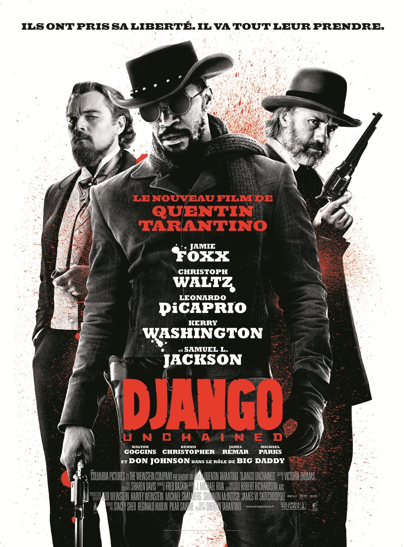Les plus belles affiches de cinéma - Page 2 Django-unchained-affiche-france