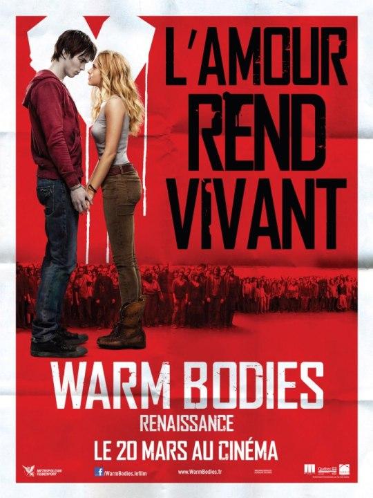 affiche Warm Bodies FR